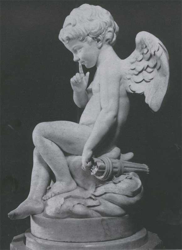 История искусства. Э.-М. Фальконе. Грозящий амур. 1755—1757. Санкт ...