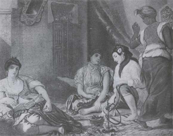 Э делакруа алжирские женщины 1834