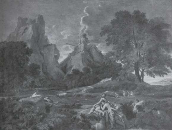 Н. Пуссен. Пейзаж с Полифемом. 1649. Санкт-Петербург, Эрмитаж.